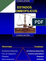 Alteraciones Moleculares en Hemofilia Trombofilica