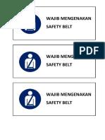 SAFETY BELT.docx