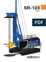 Soilmec SR-125 HIT Hydraulic Rotary Rig (April 2016)