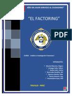 El Factoring y Joint Venture