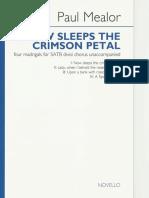 P. Mealor - Now Sleeps the Crimson Petal