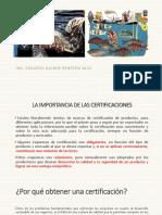 Pesqueria y Principales Certificaciones
