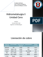 Hidrometalurgia II