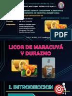 Licor de Maracuya y Durazno (2)