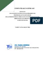Dokumen Prakualifikasi