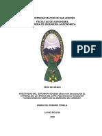 T-1354 Efectividad del entomopatogeno (Beauveria bassiana) para el control de la broca del cafe