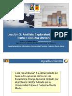 2010 2 ILI280 Leccion3 AED Univariado