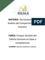 ENSAYO GESTION DEL TALENTO HUMANO BASADO EN COMPETENCIAS.docx