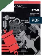 Manual Partes Transmision Rtlo16918 Eaton Fuller Nomenclatura Sistemas Componentes Estructura Caja Embrague Piezas