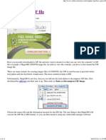 How to Open UIF File