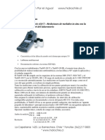 Turbidimetros Portátiles