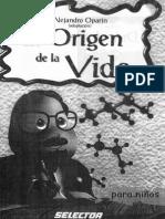 El Origen de La Vida Para Niños_Alejandro Oparin(Adaptación)