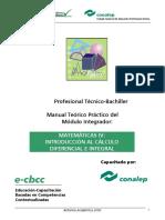 Introduccion al Cálculo diferencial e integral.pdf