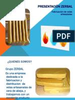 presentacion zerbal velas artesanales.ppt