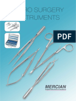 MIcrosurg Catalog