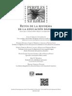 Retos de La Reforma de La Educación Básica - IiSUE - UNAM
