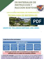 Nuevos Materiales de Construccion y Construcciones Sostenibles