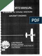 LOM M332A-AK M137A-AZ M337A-AK Operator's Manual