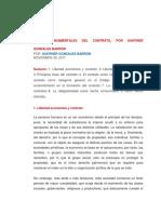 Bases Fundamentales Del Contrato