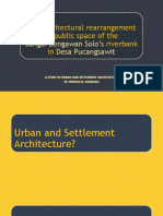 The Architectural Rearrangement of the Urban Space of Bengawan Solo's Riverbanks in Desa Pucangsawit
