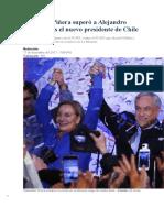 Sebastián Piñera Superó a Alejandro Guillier