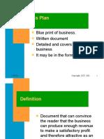 Main Business Plan