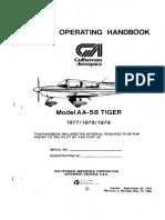 Grumman AA-5B 1977-79 POH Searchable