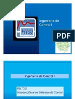 Control I Diseño de Controladores