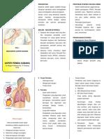 Leaflet Dispnea (Sesak Nafas)