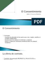 (3) El Consentimiento
