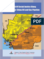 In Search of Social Justice Along Myanmar China Pipeline English Version 18012016