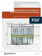 Guidance Securing Parapets Facades
