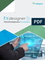 TxDesigner Brochure 2017