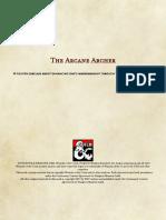Arcane Archer (Fighter Archetype)