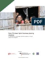 SPV Planning Checklist