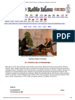 Professor Robert Faurisson, As Vitórias Do Revisionismo - Radio Islam