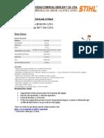 Cotización Desmalezadora FS220 2016