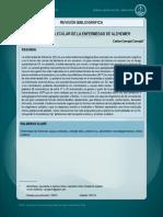Seminario 14. Biologia Molecular de Enfermedad de Alzheimer