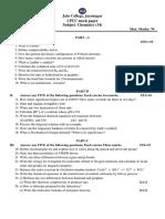 i Puc Chemistry Mock Paper
