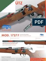 Anschutz Fortner 1727F