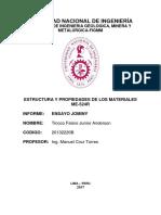 Primer Inform Estructura Jominy- Tinoco