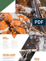 Tikka Rifle Catalogue 2017