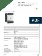 Motor Starter Components Finder_LC1D115M7