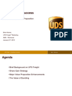 100121-UPS Freight Value Proposition