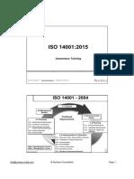 ISO 14001-2015 Awareness