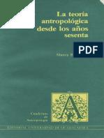 Sherry B. Ortner - La teoría antropológica desde los años sesenta