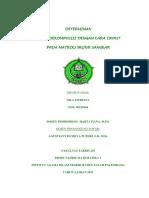 determinanhasildekomposisidengancaracroutpadamatriksbujursangkar-130123014317-phpapp02
