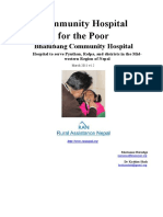 Proposal Bhalubang Community Hospital