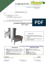 Lavadora Peladora de Tubérculos LPV – 60 I/C