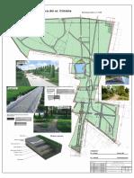 Plan Trasare Alei, Gradina Botanică, Cimișlia